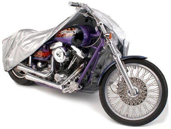 Foto 1 - Vysoce kvalitní ochranná plachta na kolo nebo motorku o velikosti 205 x 125. Využijte naší nabídky ke koupi plachty na kolo nebo motorku