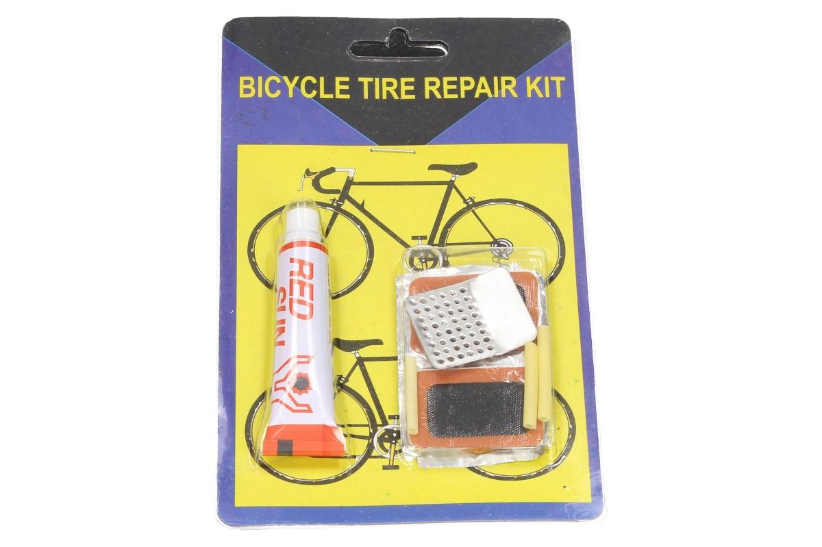 Foto 1 - Sada na opravu pneumatik u jízdního kola - pro rychlou a snadnou opravu ucházející duše. Ideální nejen na cyklo výlety, ale jako stálá výbava vaší dílny.