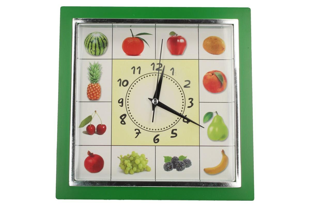 Foto 1 - Nástěnné hodiny FLORINA VEGA ovoce a zelenina jsou ideální dekorací do vašeho bytu, stylové kuchyně nebo jako dárek pro Vaše známé.