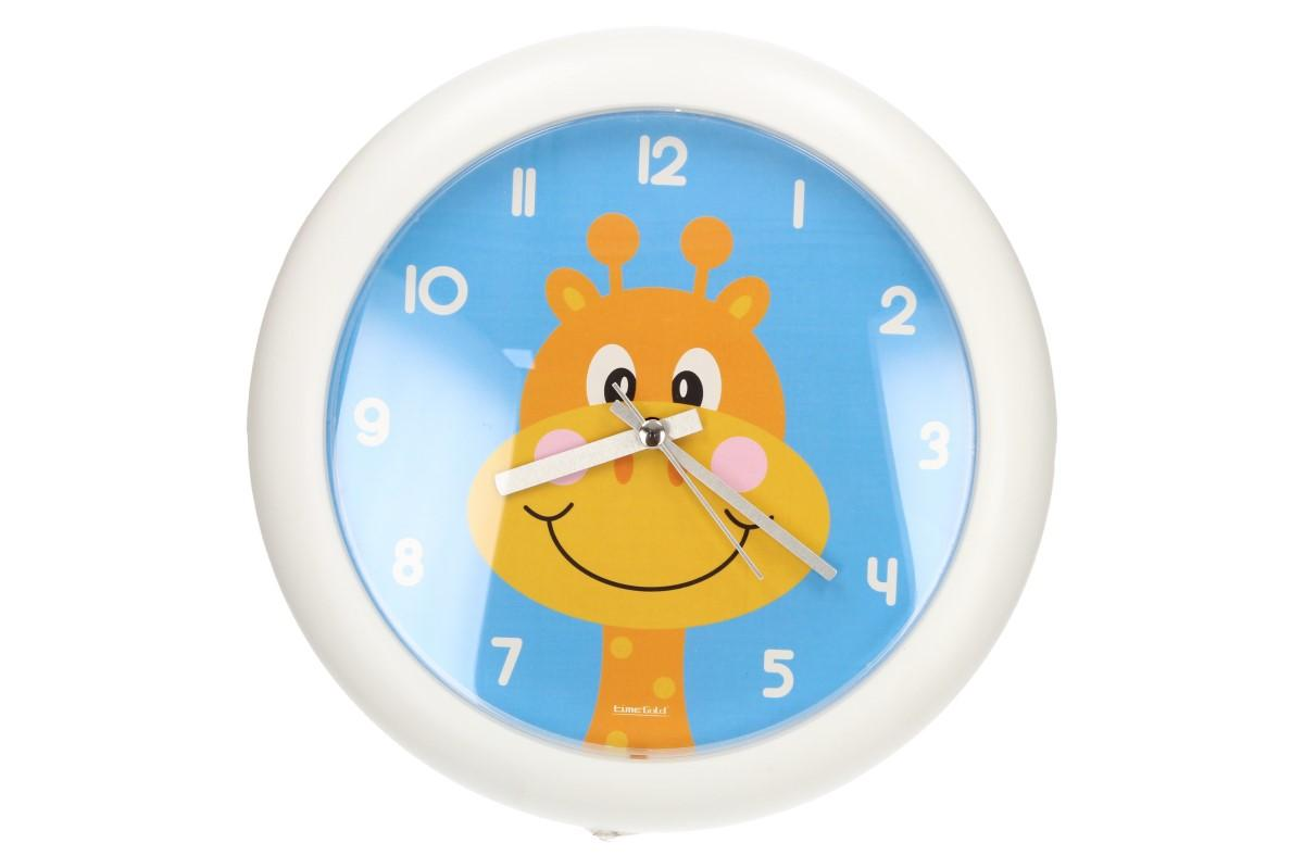 Foto 1 - Dětské nástěnné hodiny FLORINA FUNNY žirafa jsou ideální pro děti, které se učí žít v řádu času. Tento hravý design se hodí do každého dětského pokoje.