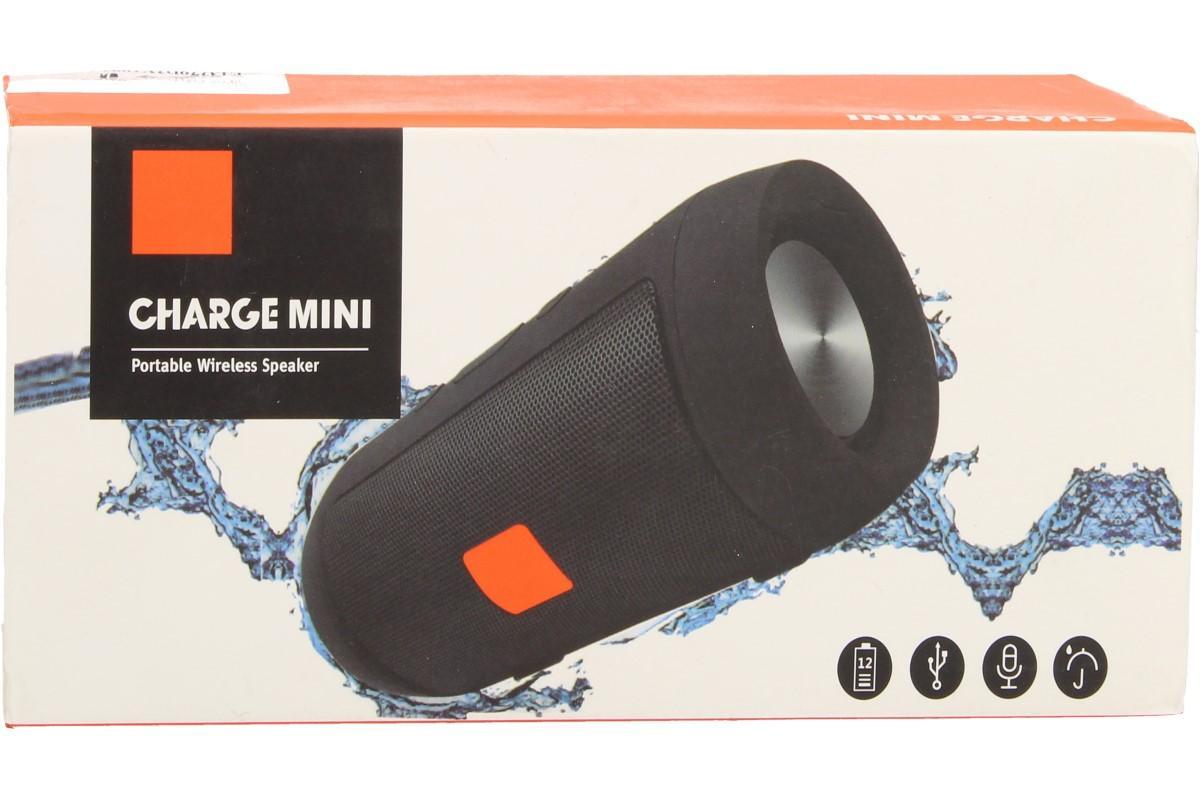 Foto 1 - Přenosný bezdrátový bluetooth reproduktor Charge mini s technologií Bluetooth pro mobilní telefony, tablety, počítače, notebooky, MP3, atd. s mikrofonem pro telefonní hovory.  Podporuje kartu TF.