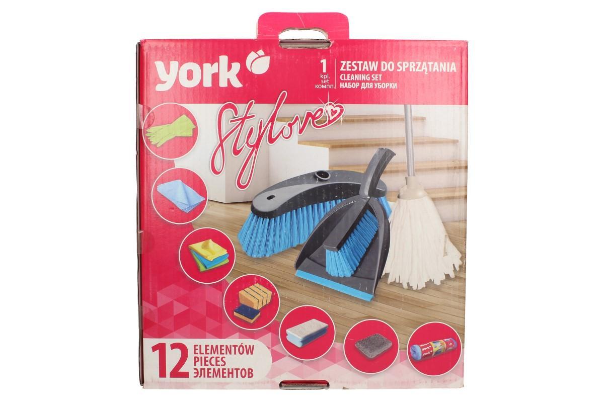Foto 1 - Sada na úklid YORK je perfektní pro každého, kdo má rád čistotu a pořádek. Ideální i jako dárek.