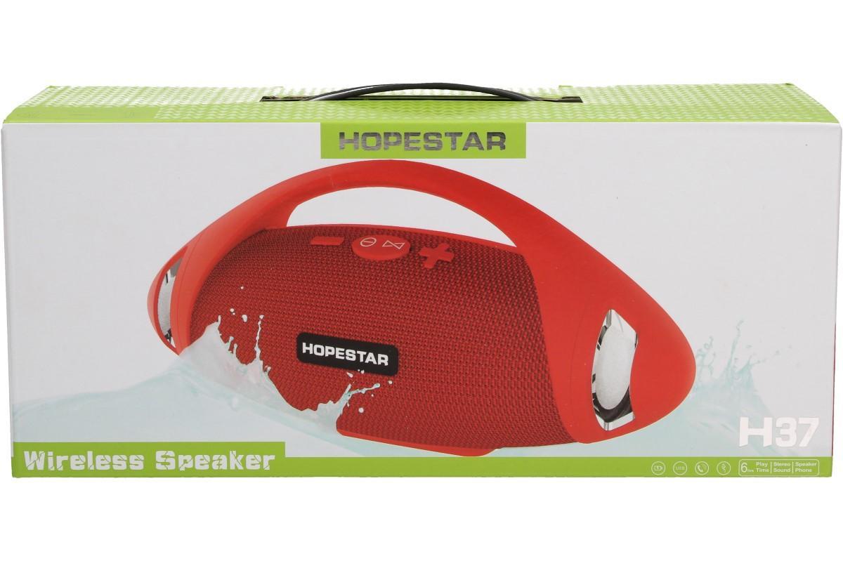 Foto 1 - Přenosný bezdrátový bluetooth reproduktor HOPE STAR H37 s technologií Bluetooth pro mobilní telefony, tablety, počítače, notebooky, MP3, atd. s mikrofonem pro telefonní hovory. Podporuje kartu TF.