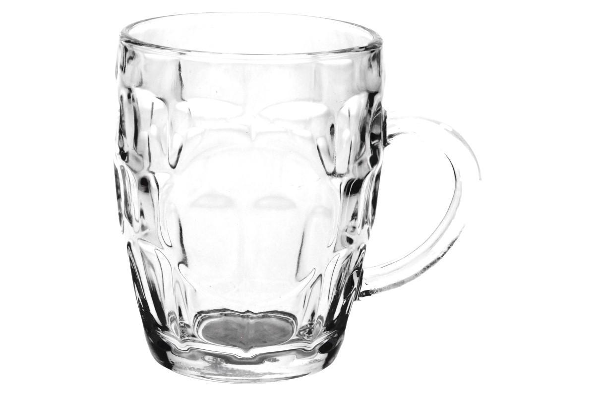 Foto 1 - Pivní sklenice 550 ml - Vychutnejte si pivo v pohodlí domova ve vaší vlastní pivní sklenici. Sklenice je z kvalitního, pevného skla o objemu 550 ml.