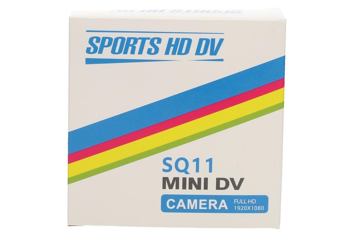 Foto 1 - Mini sportovní kamera SQ11 Full HD - se kterou zachytíte každičký zážitek ať už jste kdekoli a děláte cokoli. Ideální pro lyžaře, cyklisty, vodáky, motorkáře a vůbec pro všechny milovníky outdoorových aktivit a adrenalinových sportů.