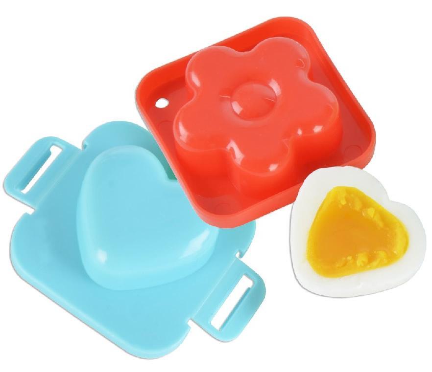 Foto 1 - Forma na vajíčka 2 kusy - vytvoří zajímavé tvary, které ocení především děti. Do formy vložíte uvařené, oloupané, ještě teplé vajíčko a necháte zchladnout