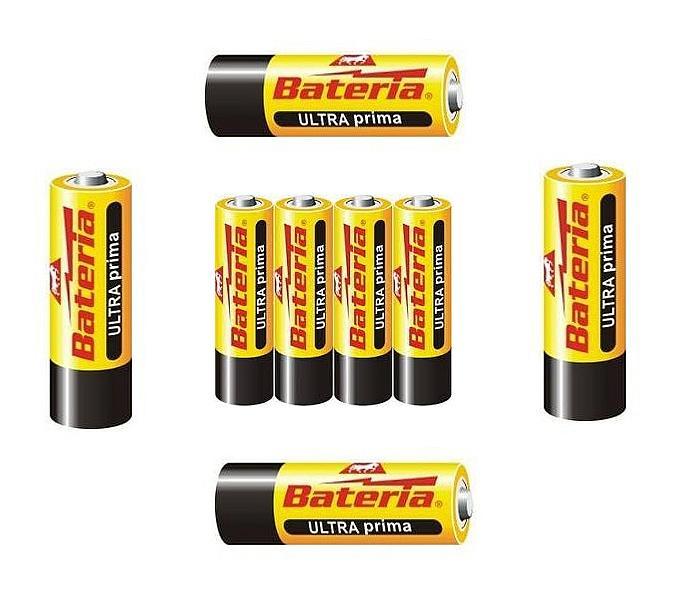 Foto 1 - Tužkové baterie AAA - balení 4ks vhodné pro všechny spotřebiče, hračky apod., které potřebují ke svému provozu 1,5V AAA tužkové baterie
