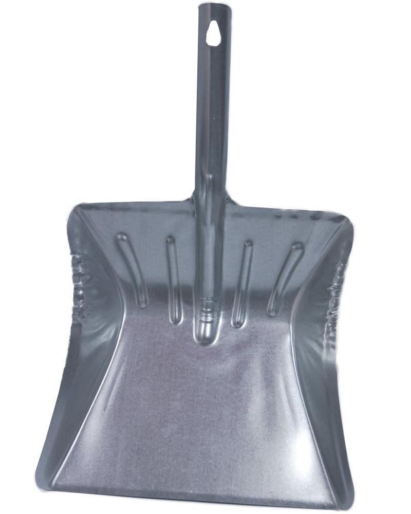 Foto 1 - Lopatka kovová - široká je klasická kovová lopatka české výroby, přesně taková, jakou všichni známe z dob minulých