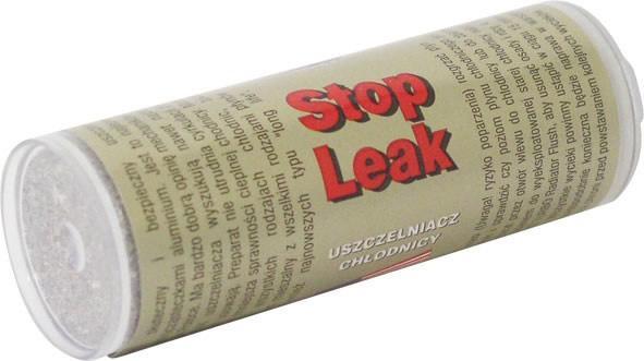 Foto 1 - K2 STOP LEAK 18,5 g - práškový utěsňovač chladiče - Přípravek s obsahem hliníkového prášku vhodný k trvalému zacelení skulinek, trhlin a netěsností vzniklých v chladící soustavě, chladiči, hlavě válců a bloku motoru