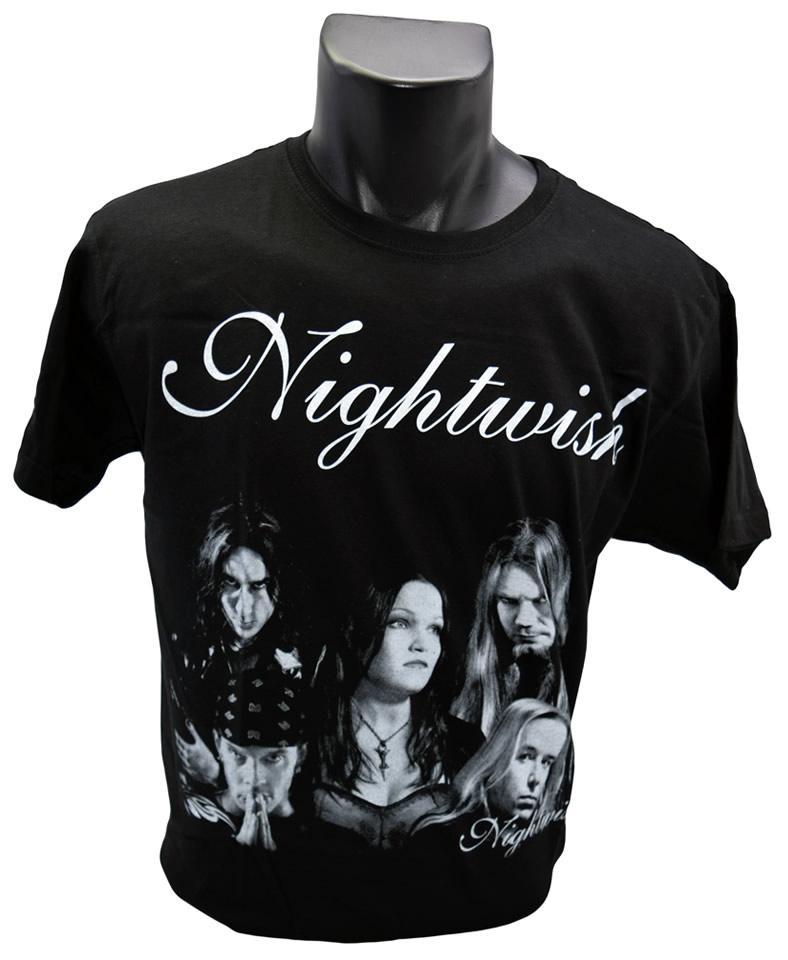 Foto 1 - Vtipné tričko NightWish pro každodenní nošení a potěšení Vašeho okolí, kvalitní obrázek na tričku, vhodné nejen na koncert!