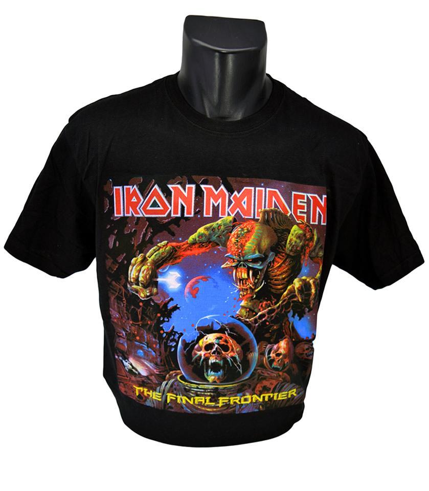 Foto 1 - Tričko Iron Maiden vhodné pro každodenní nošení a potěšení Vašeho okolí, kvalitní obrázek na tričku, vhodné nejen na motorku!