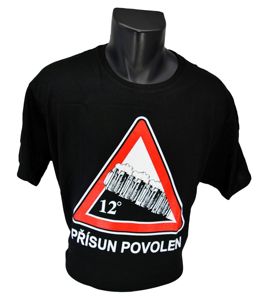 Foto 1 - Vtipné tričko přísun povolen - je vhodné pro každodenní nošení nebo do společnosti, tričko je vyrobené z kvalitního materiálu a má kvalitní potisk