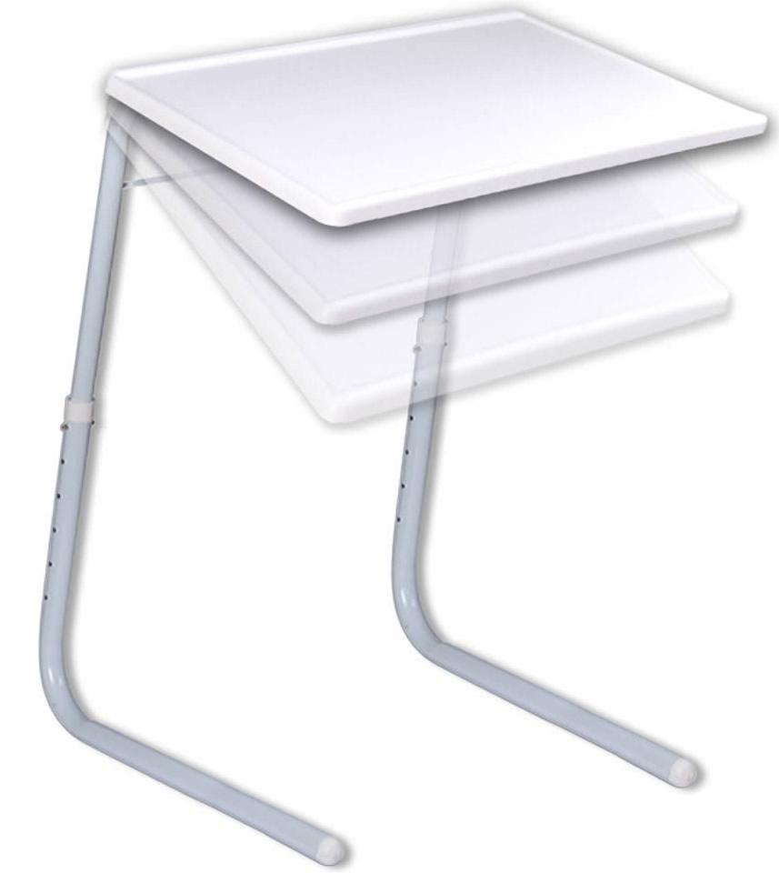 Foto 1 - Univerzální stolek naklápěcí -  je lehce přenosný, složení i skladování stolku je jednoduché, u stolku oceníte prostornou a omyvatelnou vrchní desku.