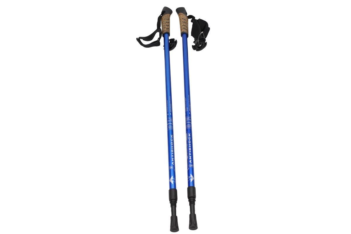 Foto 1 - Sada 2 Ks dvojdílných turistických hůlek nástavců Nordic Walking za bezkonkurenční cenu na trhu a to pouze u nás! S tlumením AntiShock!