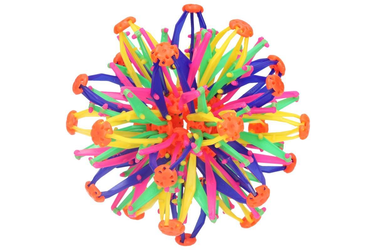 Foto 1 - Skládací míč barevný velký - pro hraní venku i vevnitř, ideální hračka pro děti nejen na zahradu