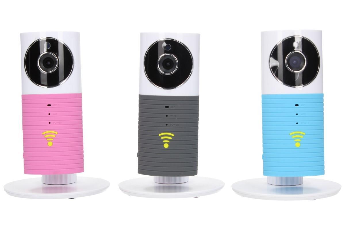 Foto 1 - Smart Wifi IP Camera s detektorem pohybu, nočním viděním a inteligentním ukládáním záznamu na TF SD kartu v miniaturním designovém provedení