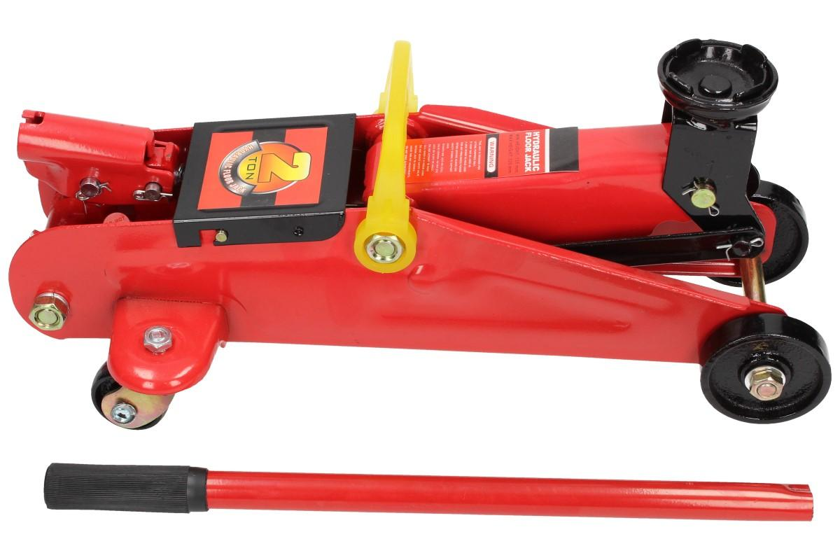 Foto 1 - Hever hydraulický pojízdný 2t o hmotnosti 8,5 kg - kvalitní hever z odolného materiálu, vhodný do garáže nebo do povinné výbavy