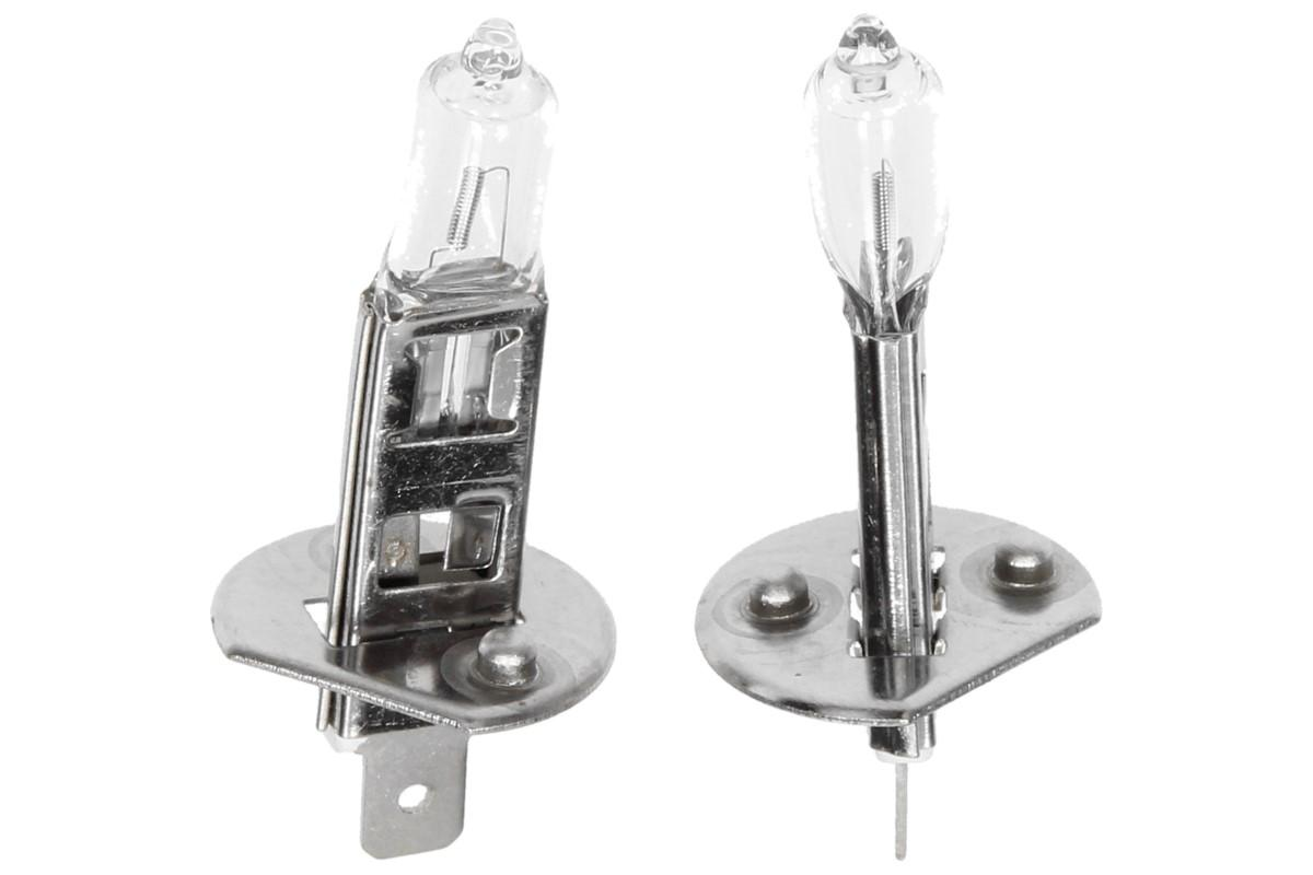 Foto 1 - Žárovka H1 unitec 2 kusy 12V/55W - Kvalitní sada 2 kusů žárovek za rozumnou cenu na trhu. Přesvědčte se a kupte si sadu 2 kusů žárovek H1 značky UNITEC