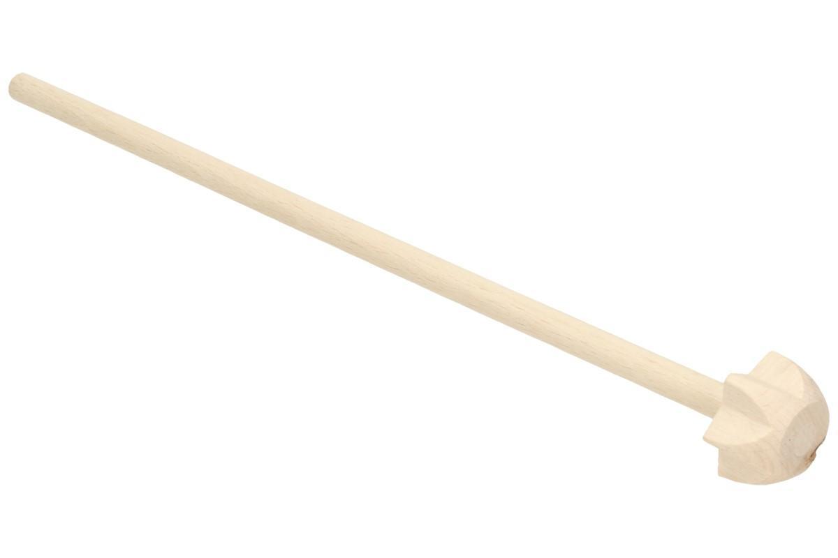 """Foto 1 - Kvrdlačka dřevěná 20 cm - je vyrobena z tvrdého zdravotně nezávadného dřeva. její délka je 20 cm a spodní průměr """"vrtule"""" jsou 3 cm a je vhodná pro každodenní použití"""