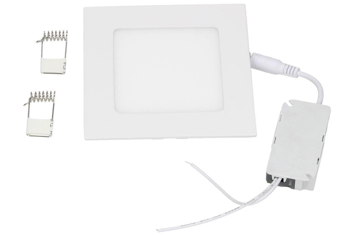 Foto 1 - Supertenký, úsporný, vysoce svítivý LED stropní panel 6W s extrémně dlouhou životností, rozměr 120 x 120 x 10 mm