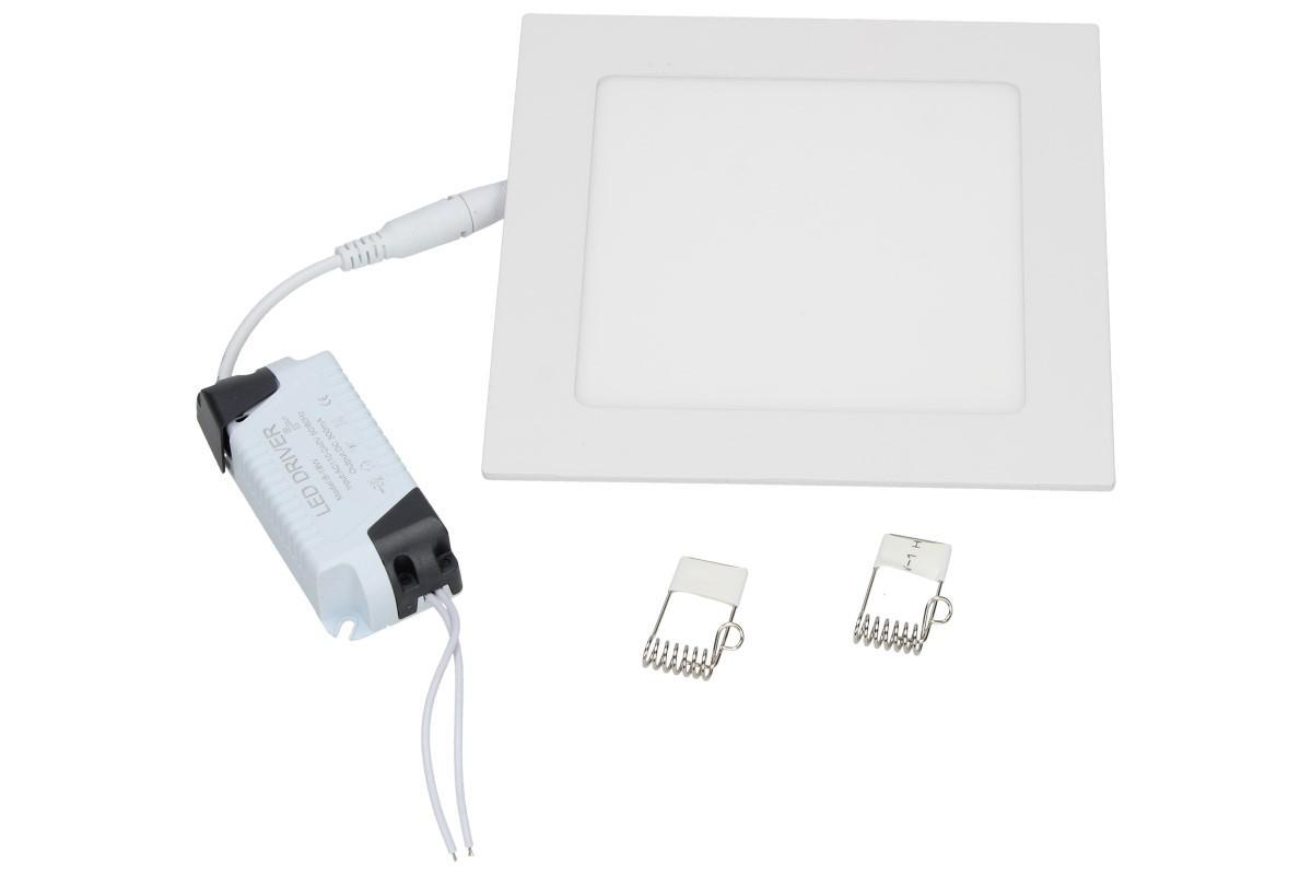 Foto 1 - Supertenký, úsporný, vysoce svítivý LED stropní panel 12W s extrémně dlouhou životností, rozměr 170 x 170 x 10 mm