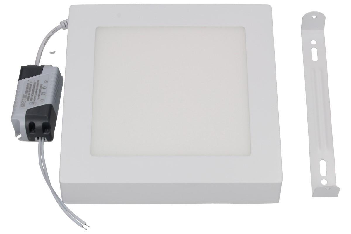 Foto 1 - Úsporný, vysoce svítivý LED stropní panel 12W s bílým rámečkem nezápustný čtvercový