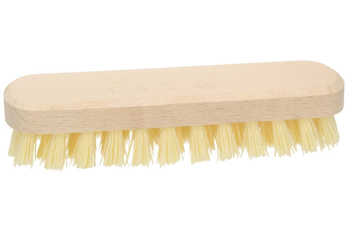 Foto 1 - Rýžák na podlahu 18,5 cm - kvalitní dřevěné tělo rýžáku a vlnitá pevná syntetická vlákla, to je klasika jak jí všichni známe