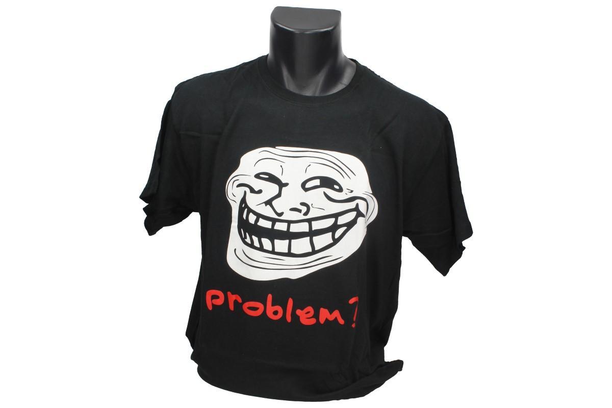 Foto 1 - Tričko problém - je vhodné pro každodenní nošení do zaměstnání nebo za zábavou. Vtipné tričko je vyrobeno ze 100% bavlny