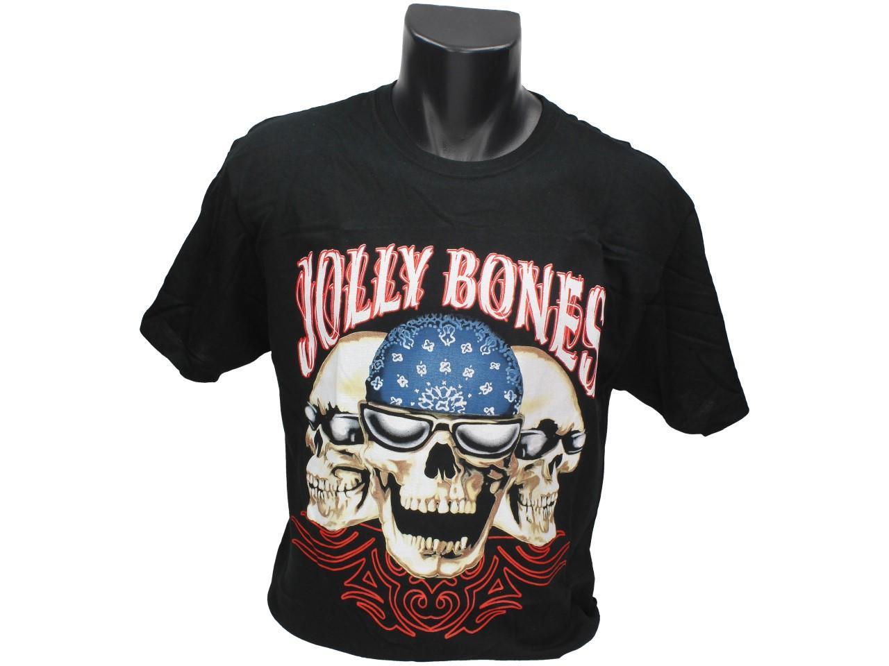 Foto 1 - Tričko Jolly Bones - je vtipné tričko, kterým zaujmete ve společnosti a je vhodné pro každodenní nošení. Tričko splňuje klasickou konfekci