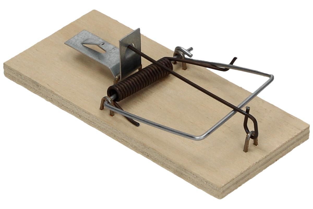 Foto 1 - Past na myši - Osvědčená pastička na myši malá je jasnou volbou pro chytání myší. Jedná se o kvalitní český výrobek