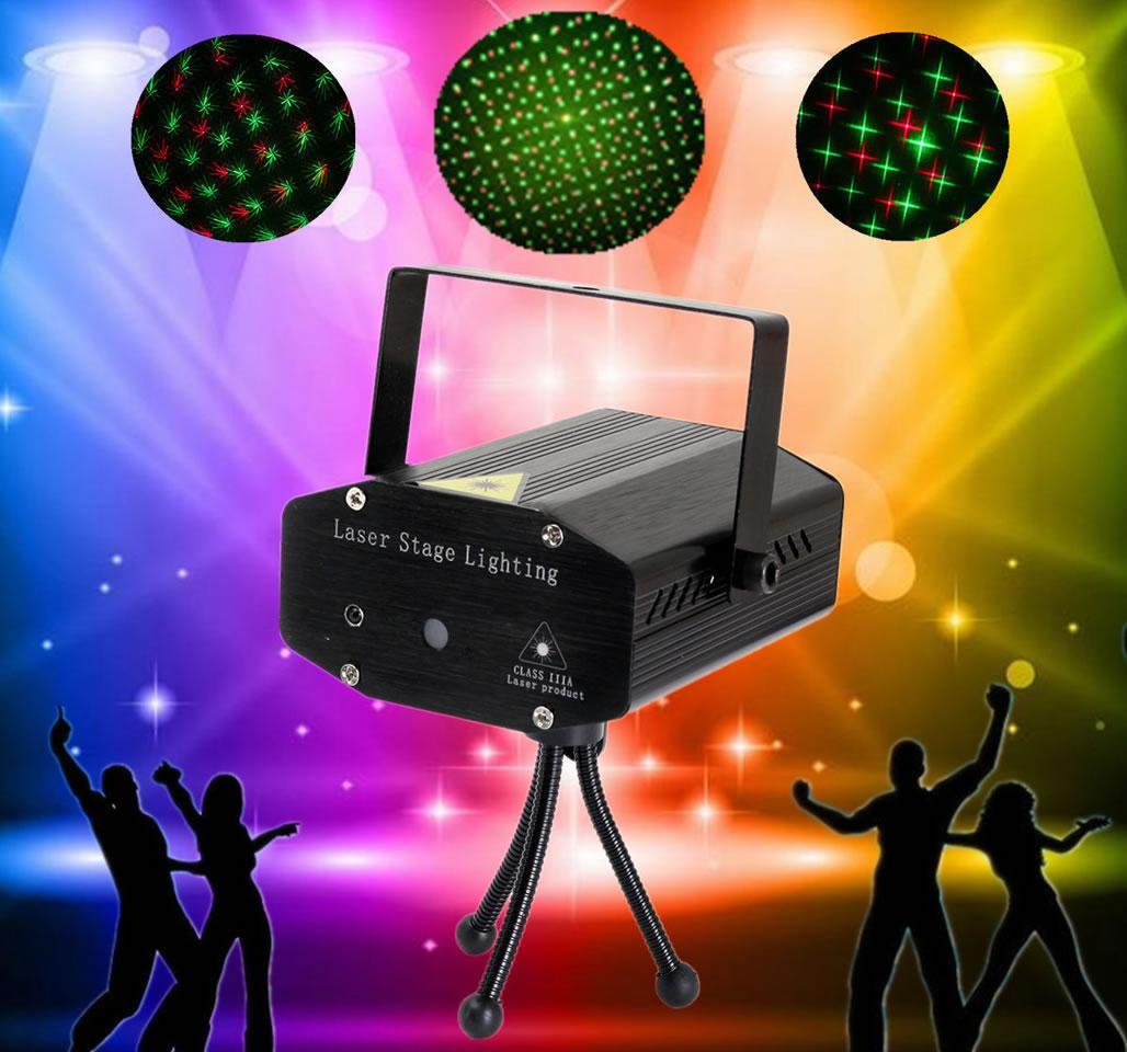 Foto 1 - Mini laserový projektor - Sníte o nezapomenutelné party, která se každému účastníkovi trvale vryje do paměti?Tento laser se hodí na každou zábavní akci.