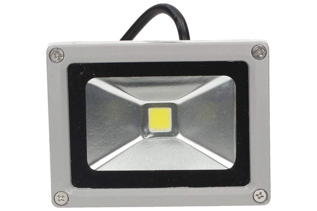 Foto 1 - LED výkonný reflektor 10W - s úsporným LED čipem: MCOB BRIDGELUX (USA) vhodný pro vnitřní i venkovní použití s metrovým kabelem pro pohodlné připojení do sítě 220V. Pouze na u nás za tuto cenu!