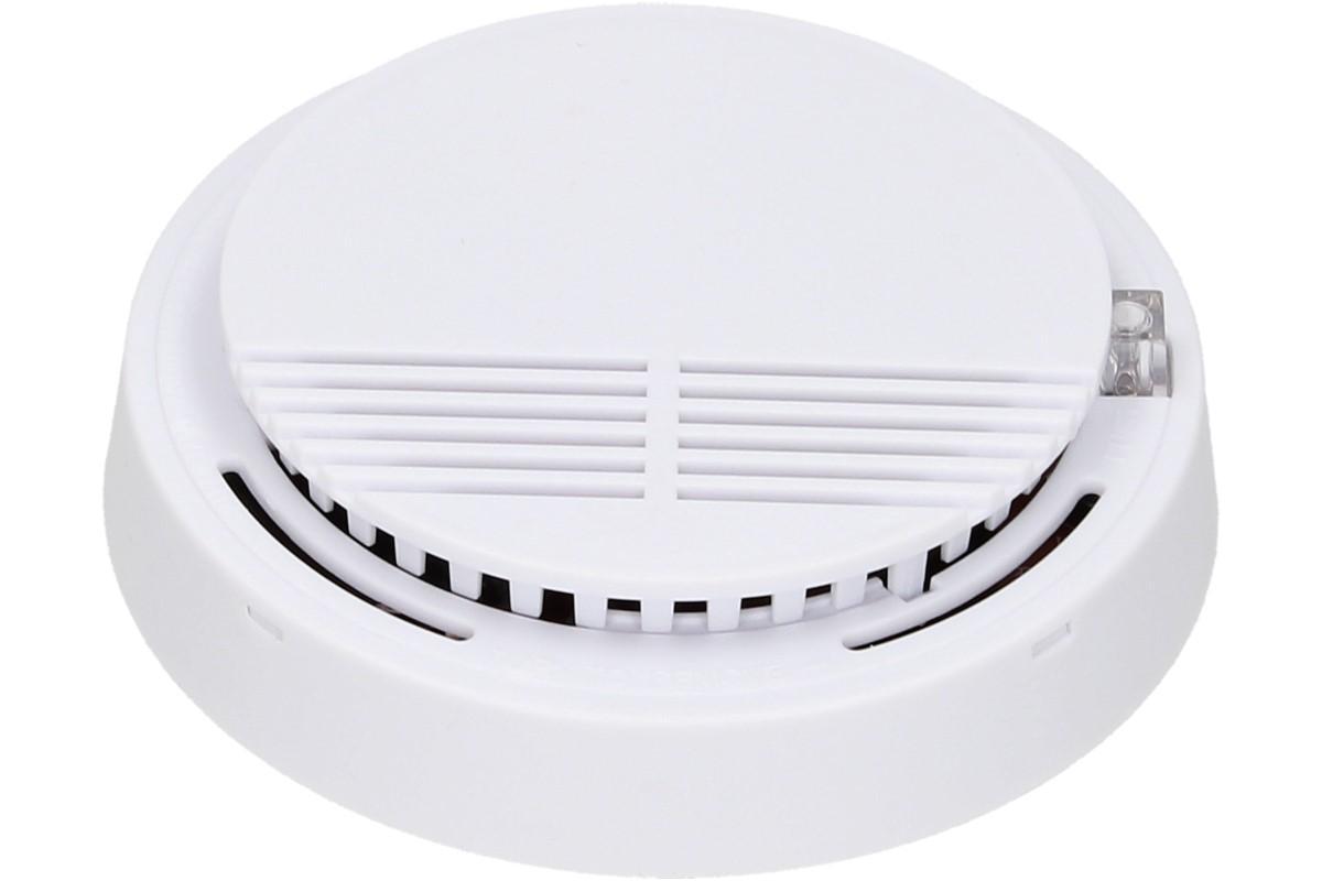 Foto 1 - Elektrický kulatý detektor kouře LX 222 - buďte v klidu a mějte klidné spaní, zapněte si detektor kouře, který vás spolehlivě upozorní na zvýšený výskyt kouře. Tento produkt z bezpečnostního hlediska doporučujeme!