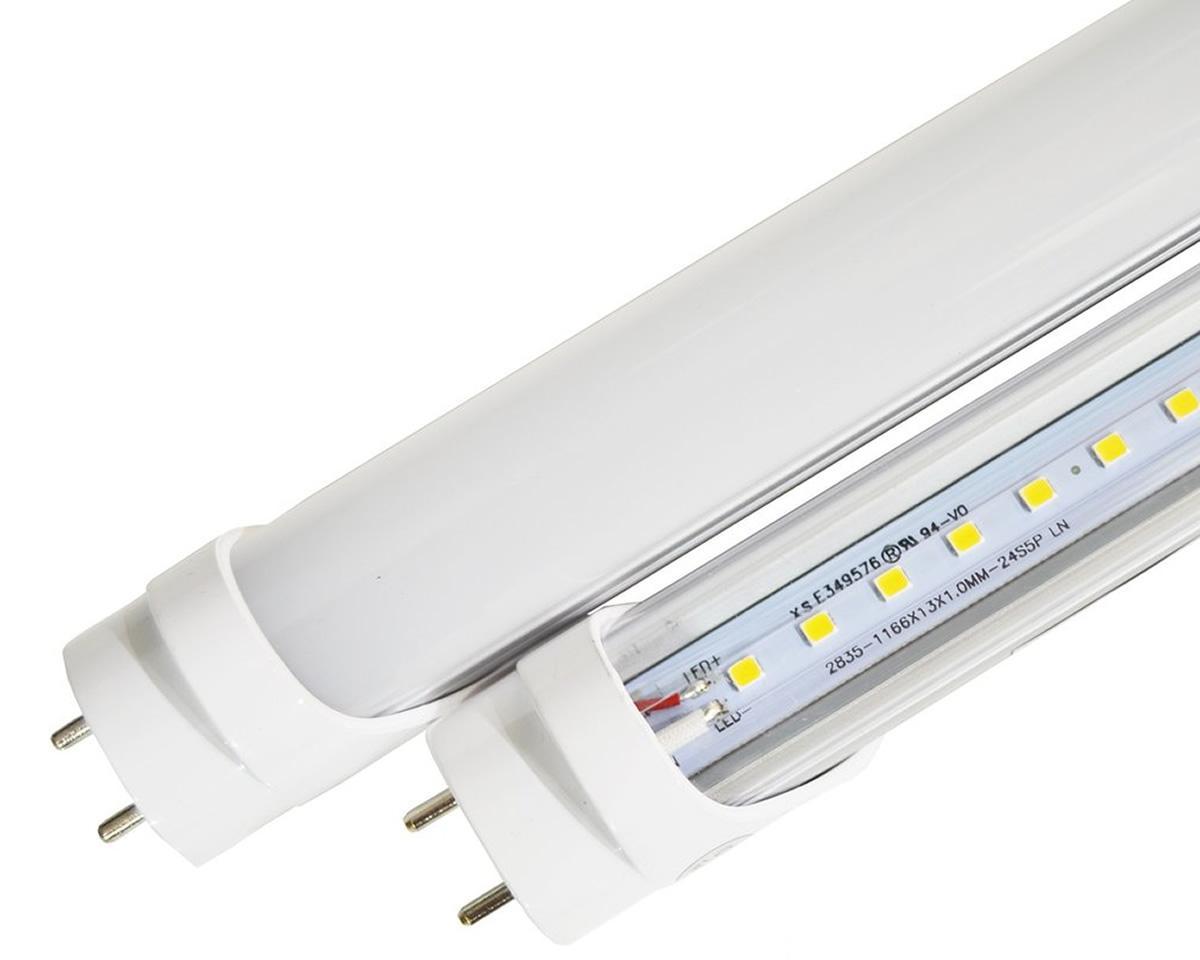 Foto 1 - LED zářivka 120cm 18W T8 - S dlouhou životností až 20 000 hodin, 6500K (studená bílá) a plastový - hliníkový kryt. Pasuje do standardních svítilen
