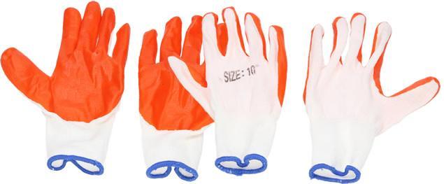Pracovní rukavice size 10