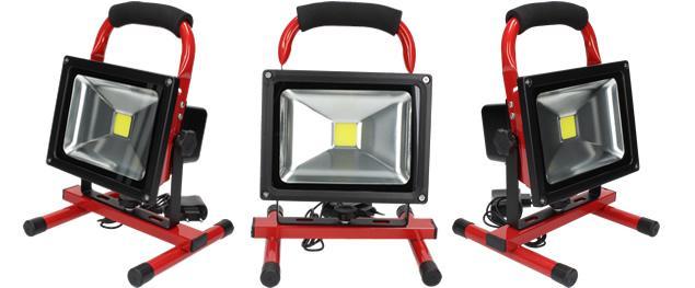 Přenosný nabíjecí LED reflektor 20W