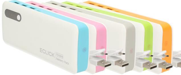 Výkonná přenosná USB nabíječka Power Bank 20 000mAh s LED svítidlem