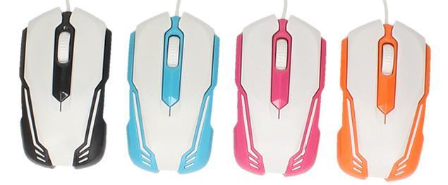 Optická myš Jiexin Color Design
