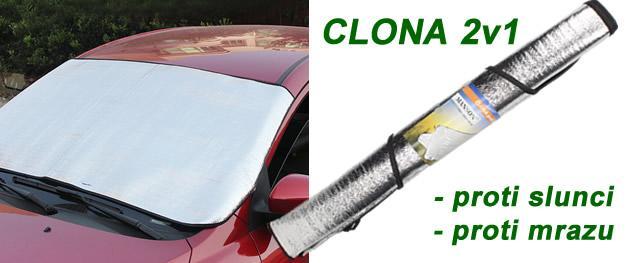 Clona proti Mrazu a Slunci 2v1