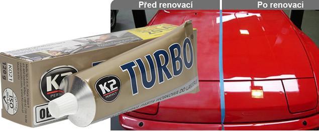 K2 TURBO - pasta na obnovu laku