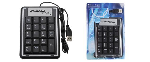 Přídavná číselná klávesnice