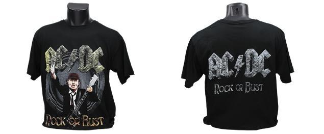 Tričko AC/DC Rock or Bust