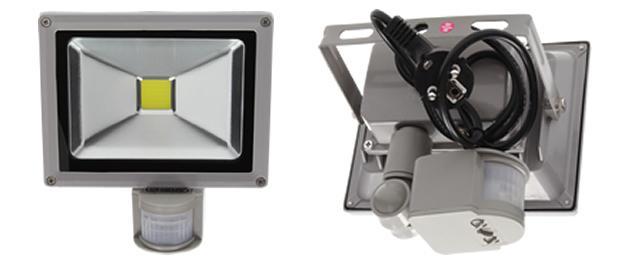 Úsporný reflektor 20W s čidlem