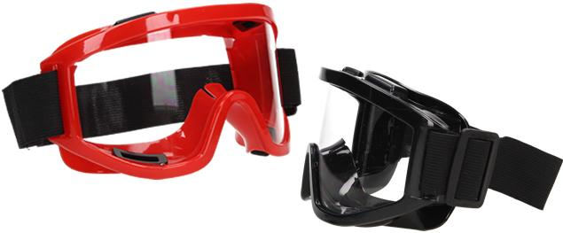 Ochranné pracovní brýle s gumou