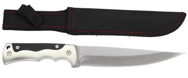 Hobby lovecký nůž Knife Survival celokovový s gravírováním 30 cm