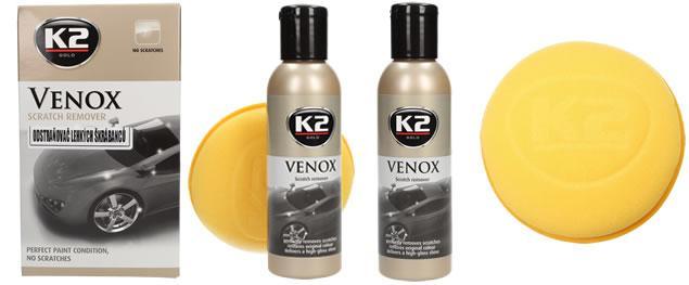 K2 Venox 180 g - odstraňovač lehkých škrábanců