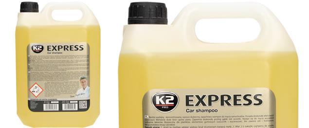 K2 EXPRESS 5 l - šampon bez vosku