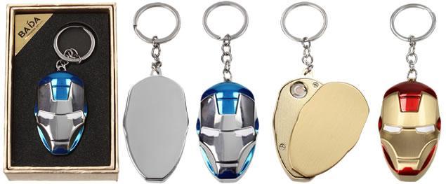 Kovový USB zapalovač se spirálou Iron man