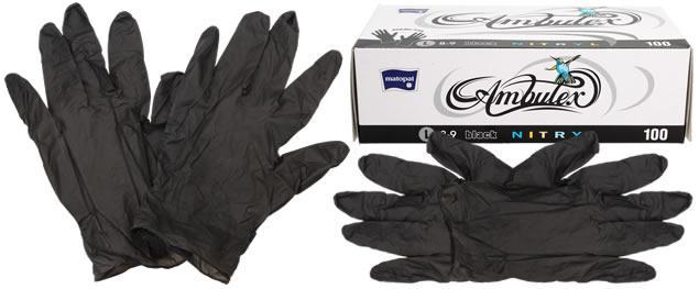 Profi nitrylové rukavice balení 100 kusů