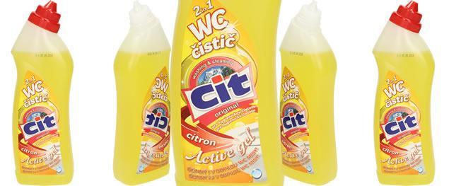 CIT wc čistič citron 2v1 750 ml